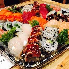 koi sushi bar franchise, take away