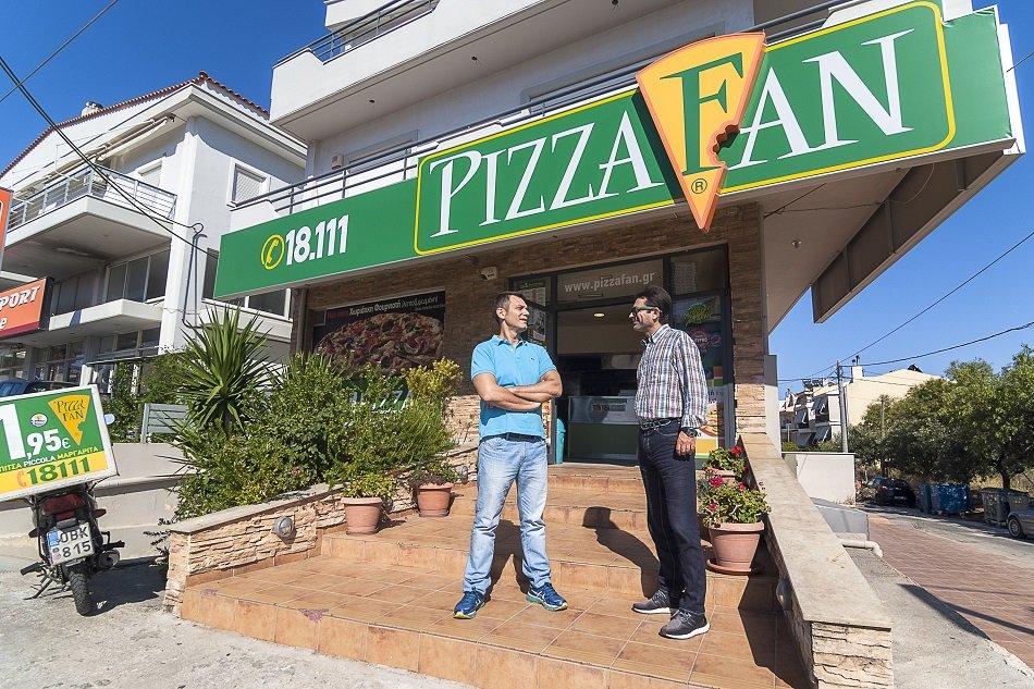PIZZA FAN Συνέντευξη franchisees