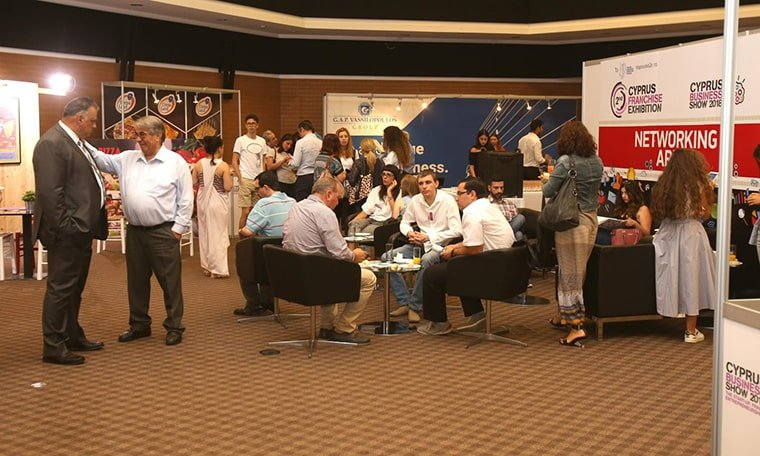 Cyprus Business Show 2018 Networking Area
