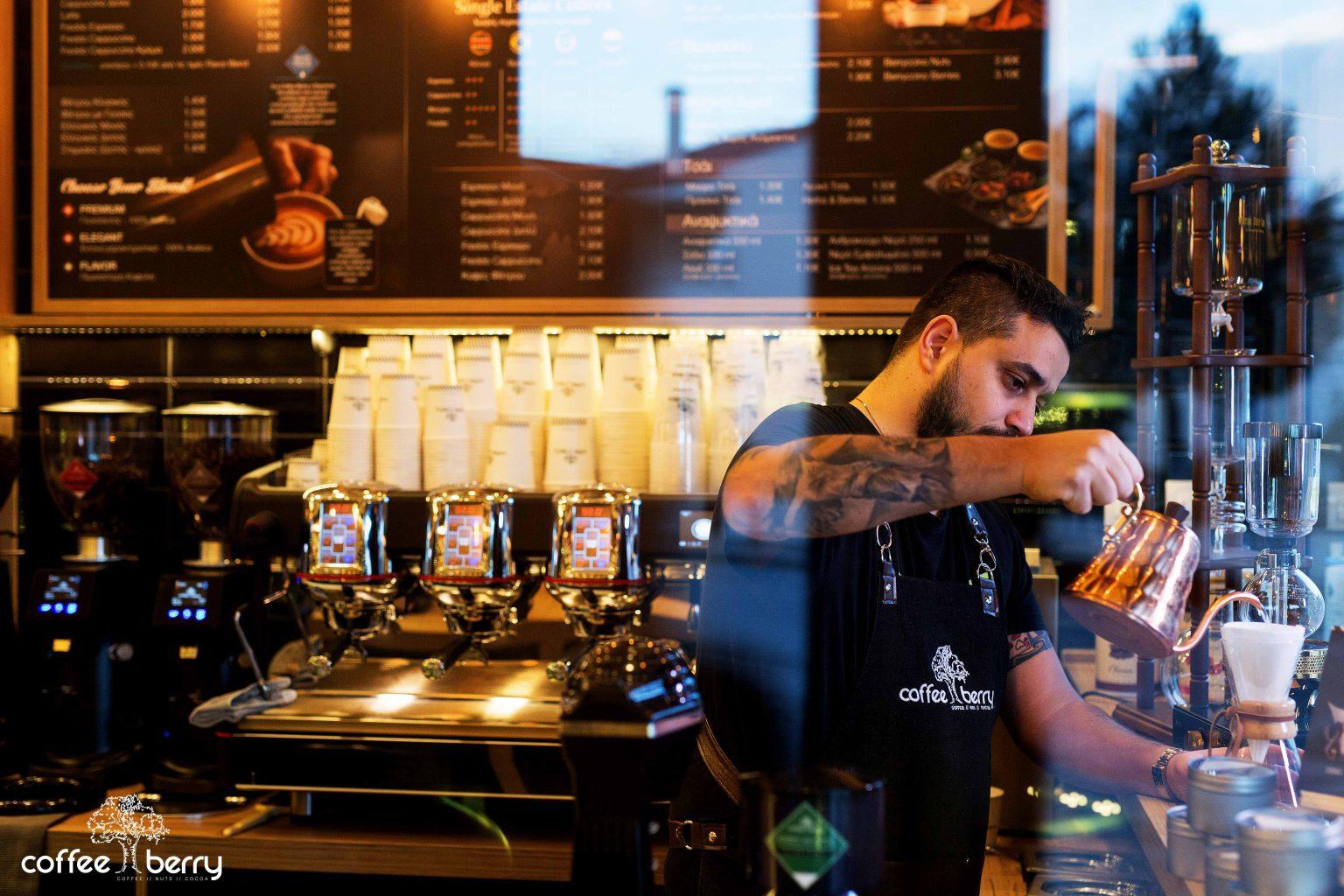Εξειδίκευση και πάθος για τον καφέ από την Coffee Berry