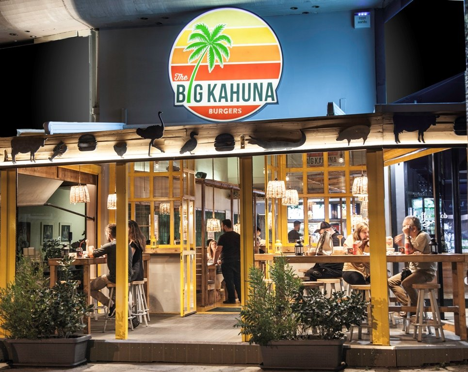 the big kahuna franchise Εξωτικά burgers